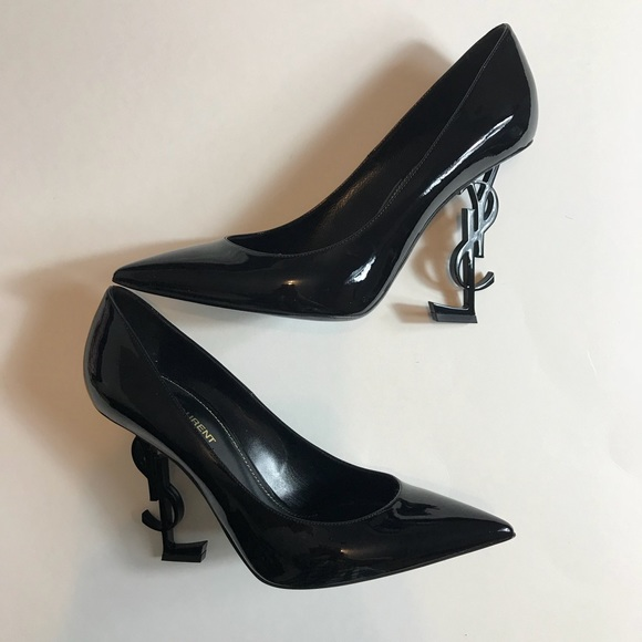 e02c9bf502 Saint Laurent Shoes | Ysl Opium Patent Leather Pumps | Poshmark